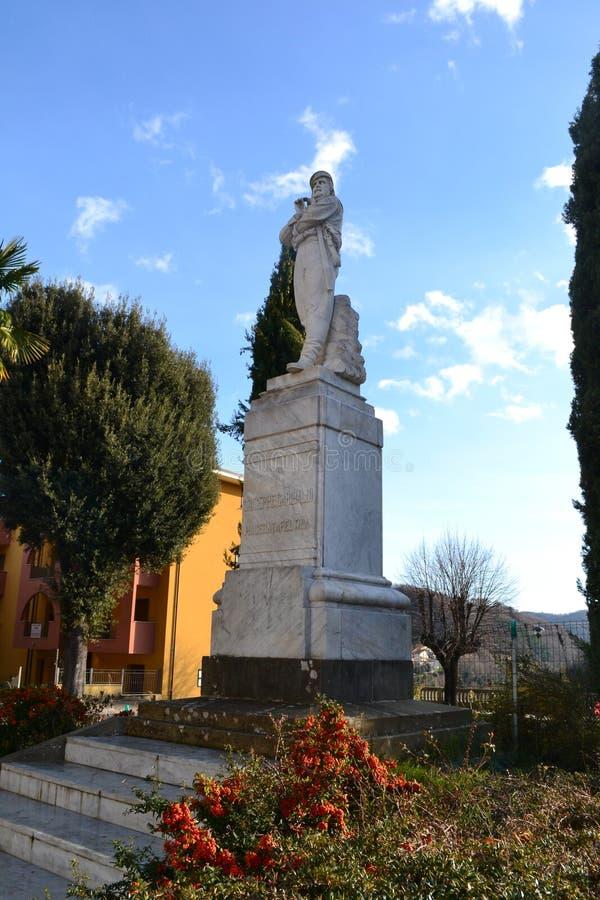 Het monument van Garibaldi royalty-vrije stock foto's