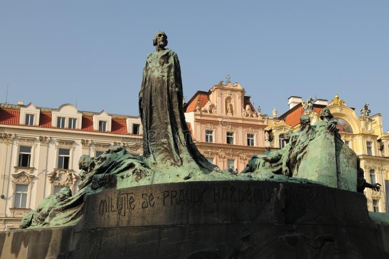 Het Monument van januari Hus royalty-vrije stock foto