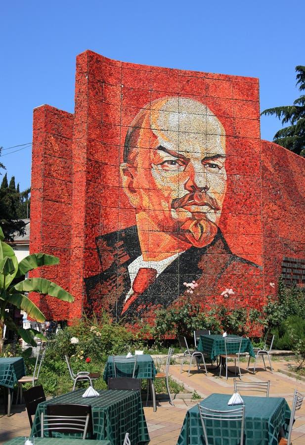Het monument van Lenin royalty-vrije stock fotografie