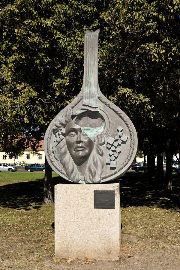 Het Monument van Lissabon Fado royalty-vrije stock foto