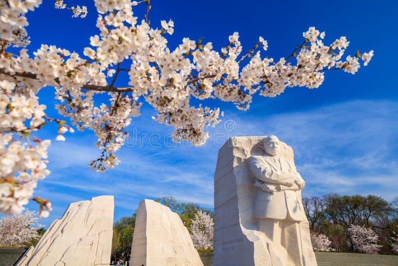 Het Monument van Martin Luther King stock afbeeldingen
