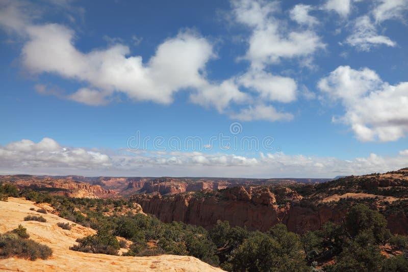 Het monument van Navajo stock foto's
