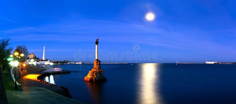 Het Monument van Sebastopol stock foto's