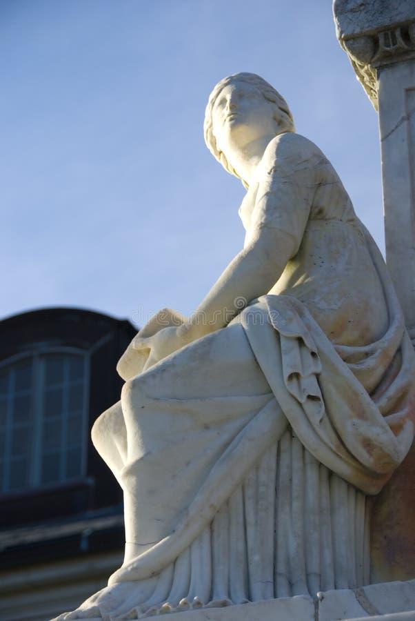 Het monument van Tripoli bij ZeeAcademie stock foto