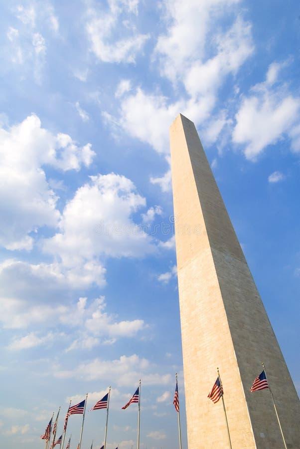 Het Monument van Washington, gelijkstroom stock afbeeldingen