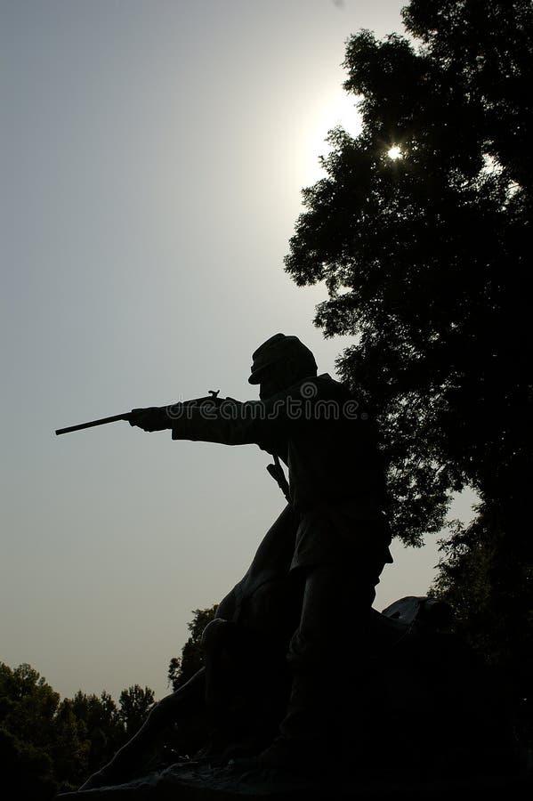 Het Monument Vicksburg van de Burgeroorlog stock fotografie