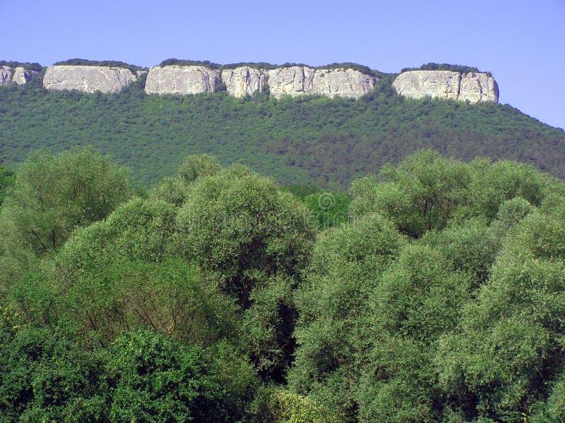 Het mooie berglandschap stock fotografie