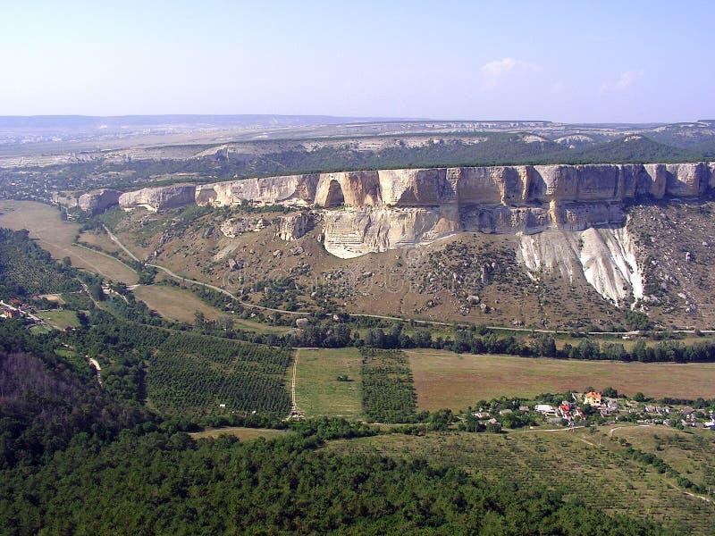 Het mooie berglandschap royalty-vrije stock afbeelding