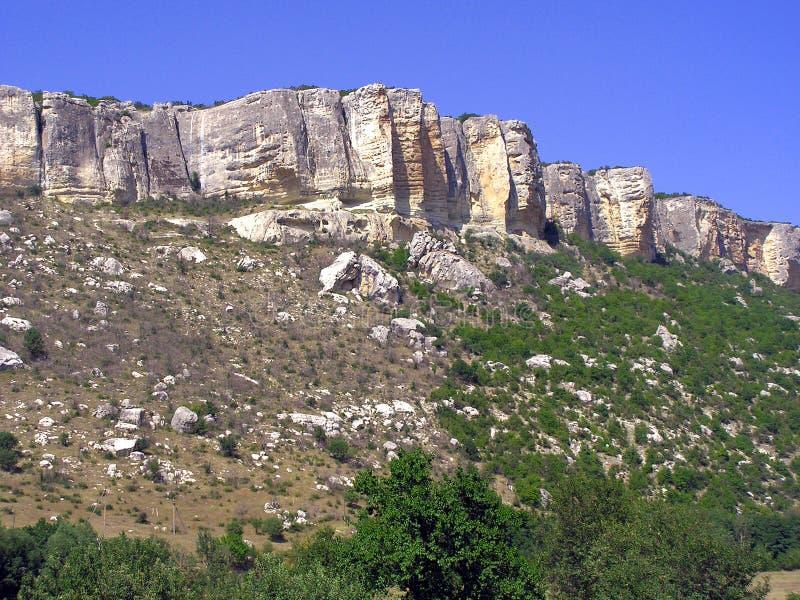 Het mooie berglandschap stock afbeeldingen
