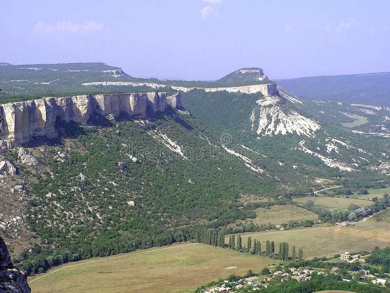 Het mooie berglandschap royalty-vrije stock foto