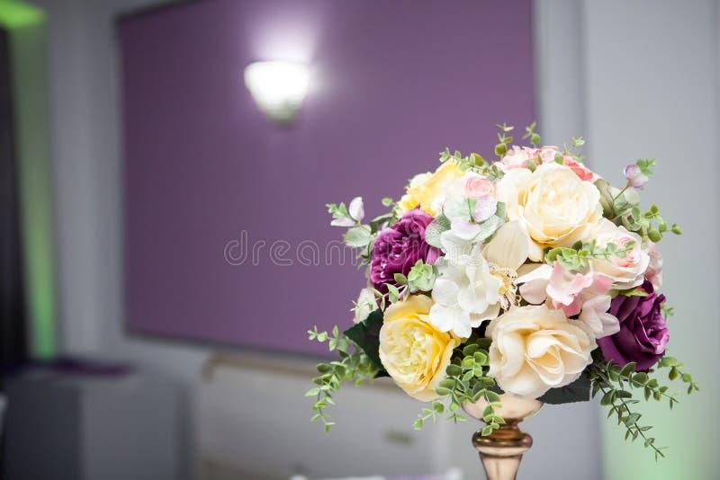 Het mooie boeket van de huwelijksbloem stock foto's