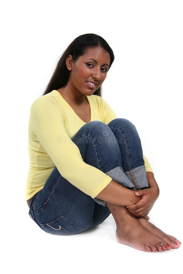 Het mooie Exotische Model van de Vrouw stock afbeeldingen