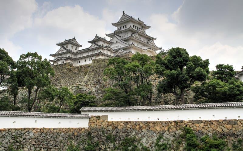 Het mooie kasteel van Himeji, Himeji, Hyogo-Prefectuur, Japan stock foto's