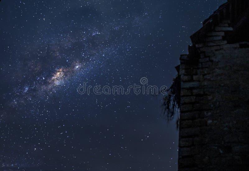 Het mooie land van Milkyway Hongarije Tolna stock afbeeldingen