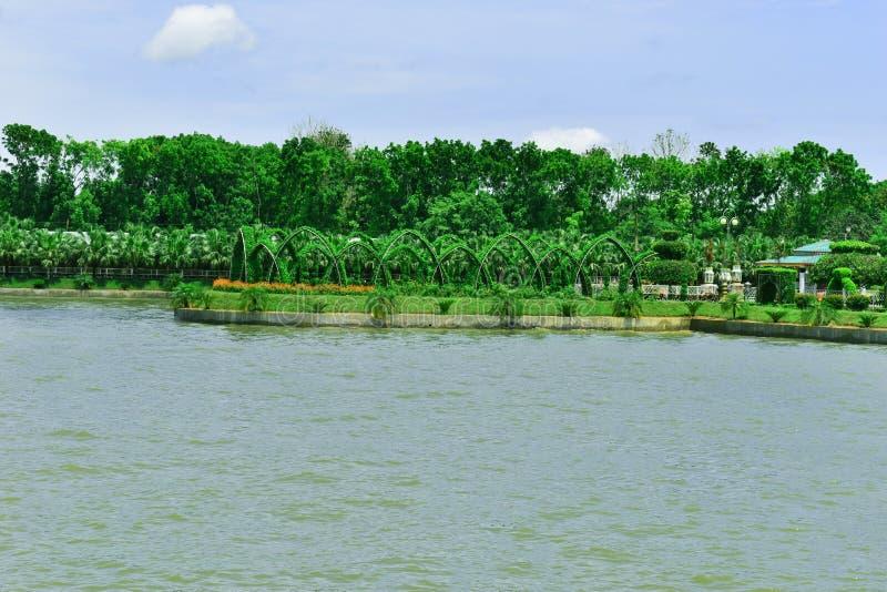 Het Mooie Landschap in Bangladesh royalty-vrije stock foto