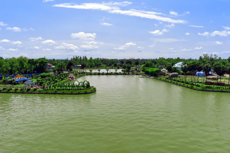 Het Mooie Landschap in Bangladesh stock foto