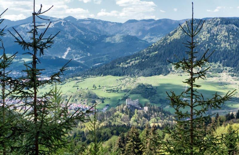 Het mooie Landschap van de Berg royalty-vrije stock foto