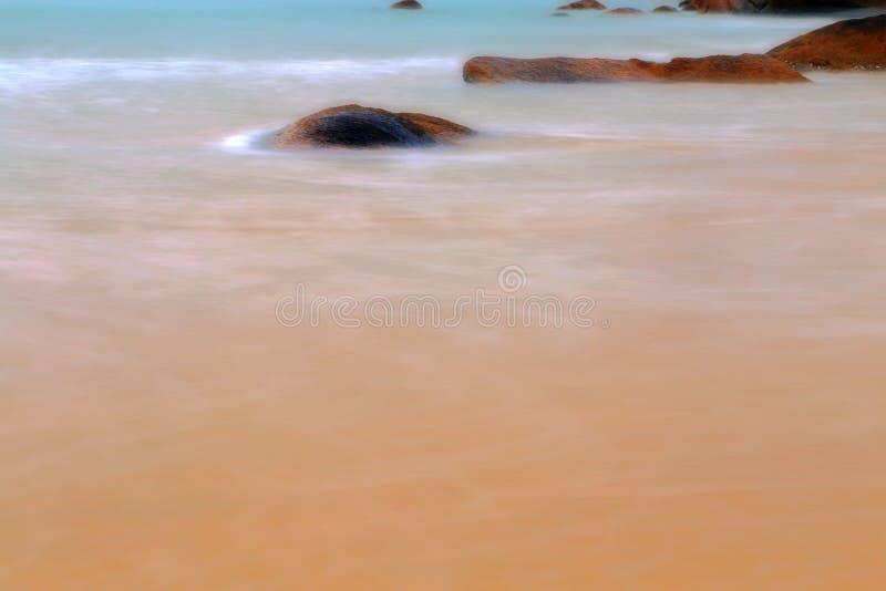 Het mooie landschap van het strand in het eiland van shantounanao, Guangdong, China royalty-vrije stock afbeeldingen