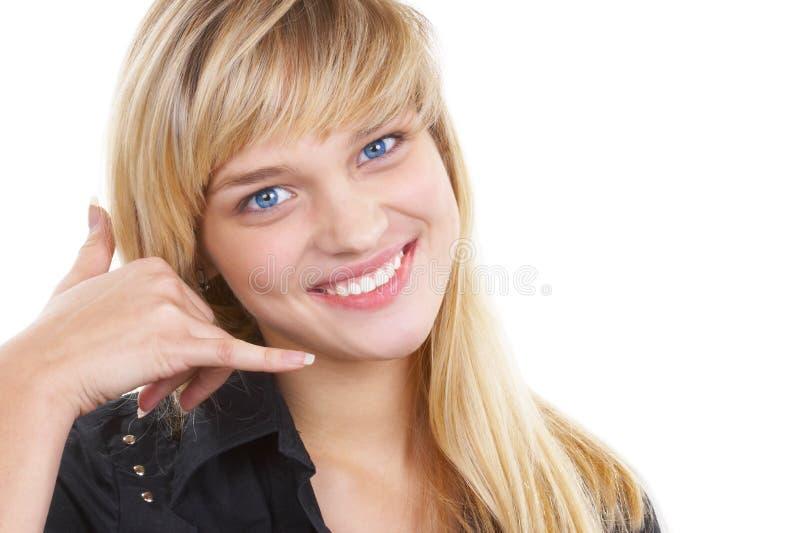 Het mooie meisje stock afbeelding