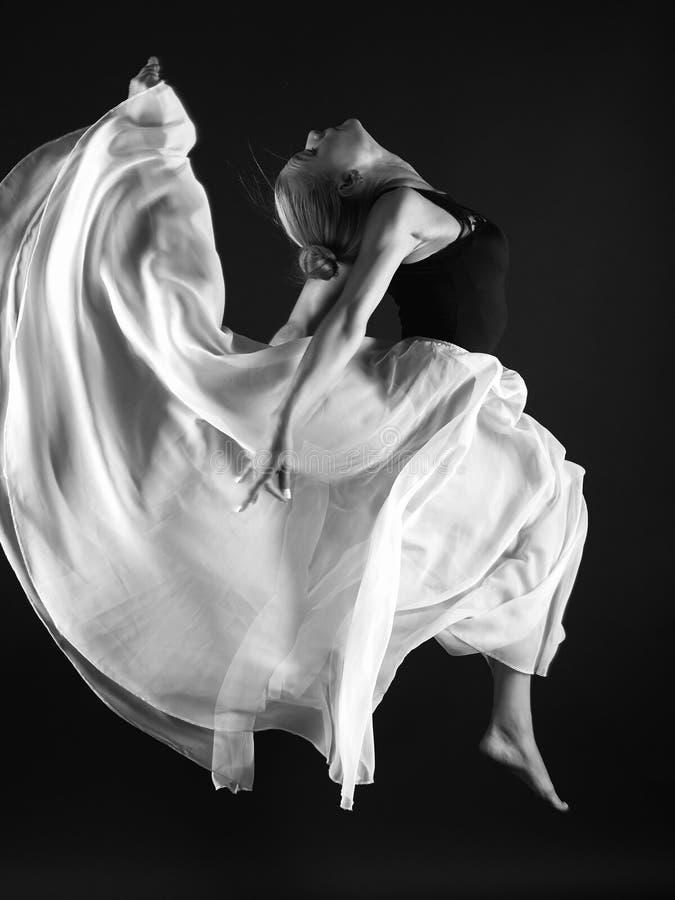 Het mooie Meisje van de Ballerina royalty-vrije stock foto
