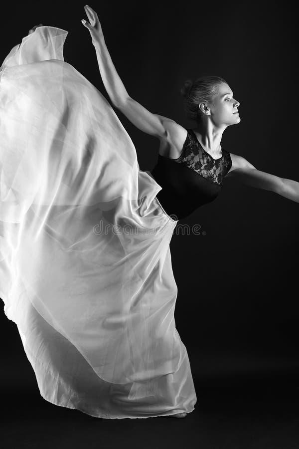 Het mooie Meisje van de Ballerina stock fotografie