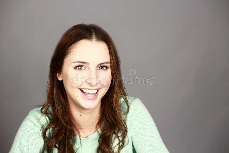 Het mooie Meisje van de Tiener royalty-vrije stock afbeelding