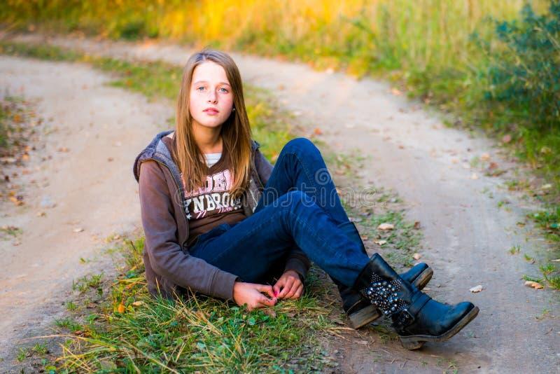 Het mooie Meisje van de Tiener stock foto's