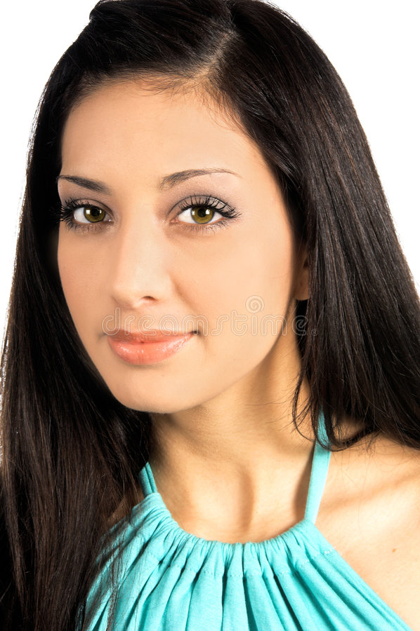 Het mooie Meisje van Latina royalty-vrije stock afbeeldingen