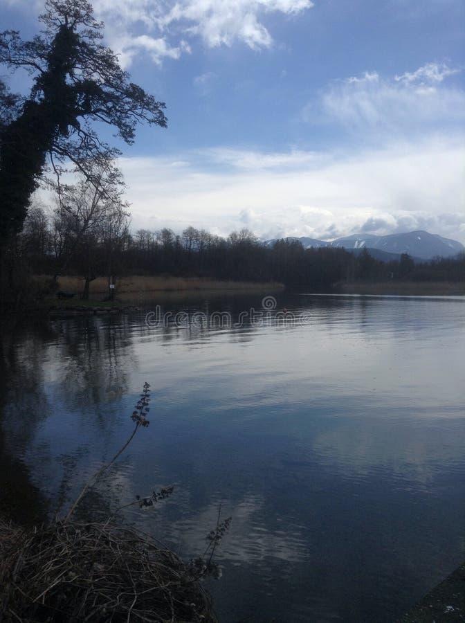 Het mooie Overzees van Oostenrijk royalty-vrije stock foto's
