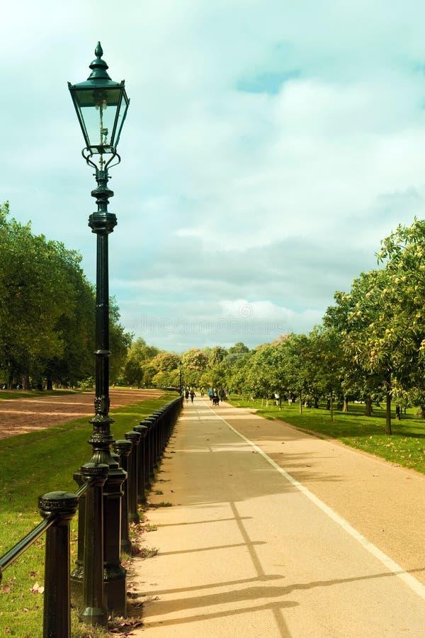 Het mooie Park van Londen Hyde stock afbeelding