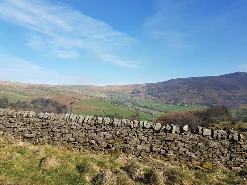 Het mooie platteland van Yorkshire royalty-vrije stock fotografie