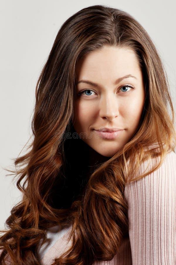 Het mooie Romantische portret van de Vrouw stock fotografie