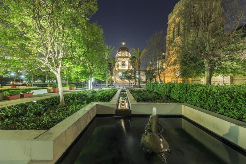 Het mooie Stadhuis van Pasadena dichtbij Los Angeles, Californië royalty-vrije stock afbeelding
