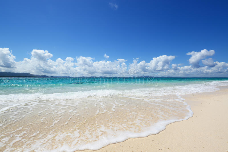 Het mooie strand royalty-vrije stock foto