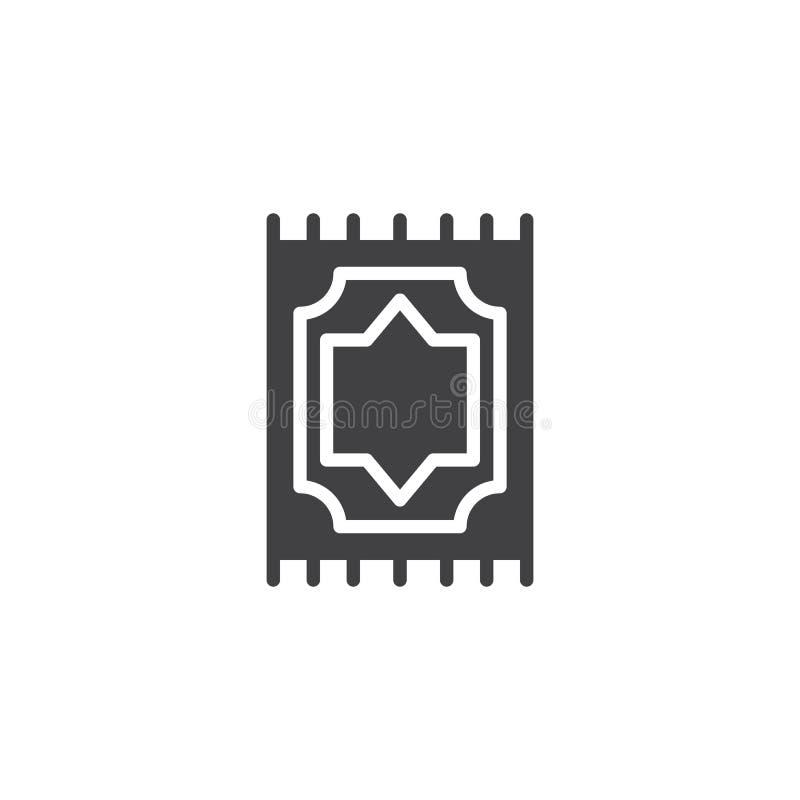 Het moslim vectorpictogram van de Gebeddeken vector illustratie