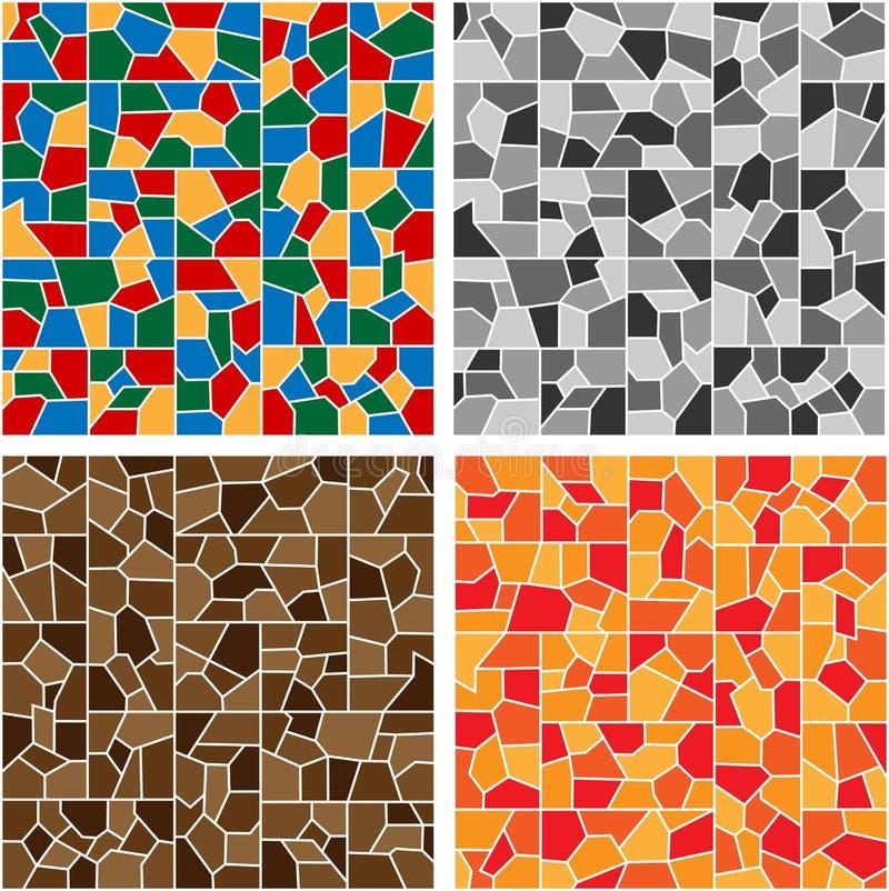 Het mozaïek van de kleur vector illustratie