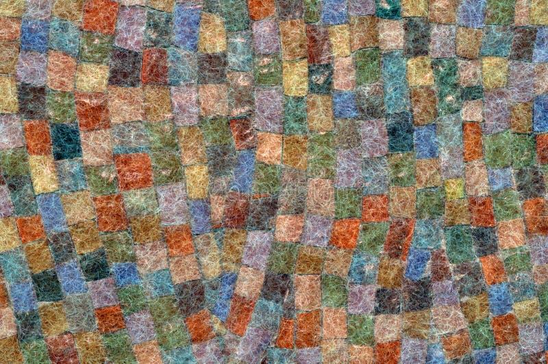 Het mozaïek van het mohair royalty-vrije illustratie