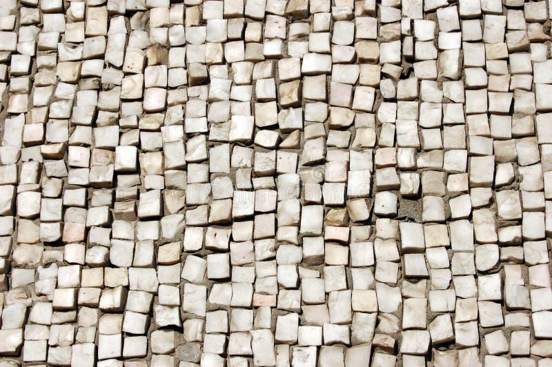 Het mozaïek van kiezelstenen royalty-vrije stock foto's