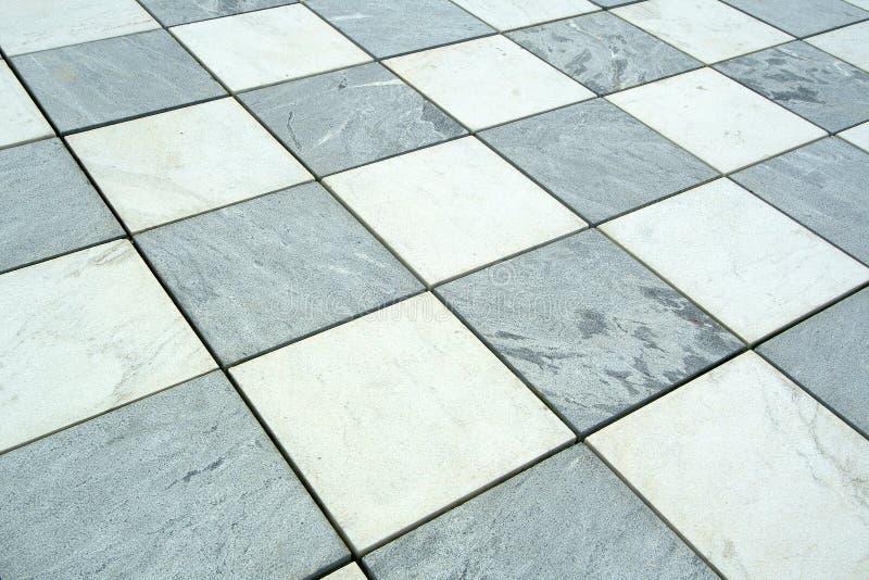 Het mozaïekachtergrond van de vloer stock foto's