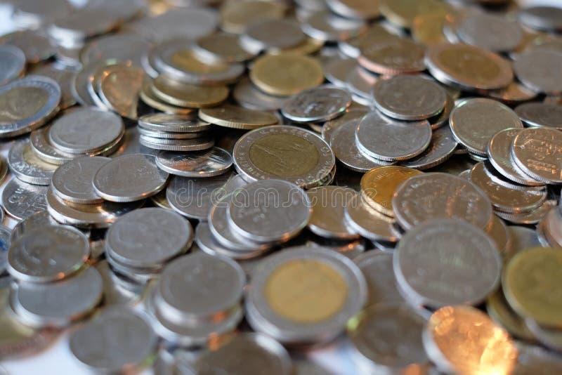 Het muntstuk van Thailand royalty-vrije stock afbeeldingen