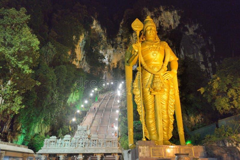 Het murugan standbeeld van Lord stock fotografie