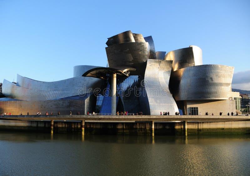 Het Museum Bilbao van Guggenheim royalty-vrije stock afbeeldingen