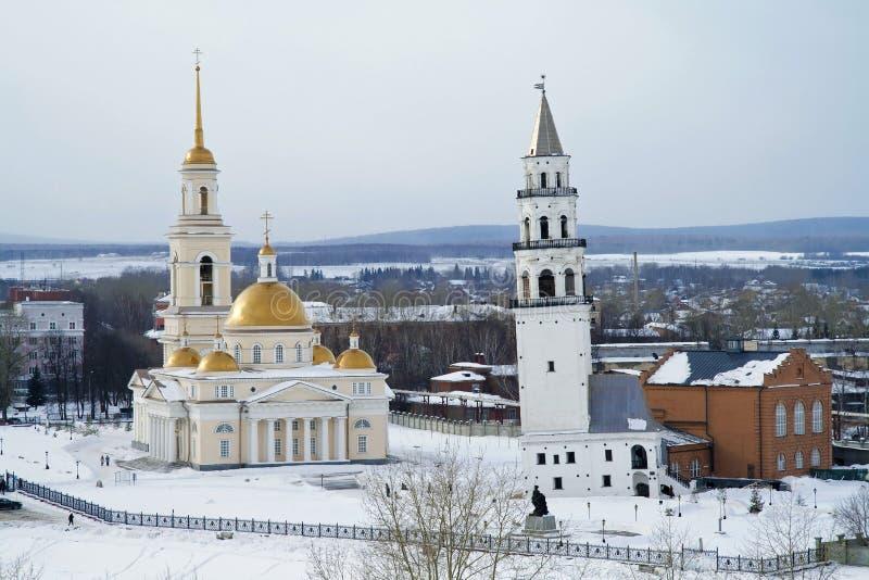 Download Het Museum Complex In Nevyansk Stock Afbeelding - Afbeelding bestaande uit toren, redder: 29504583