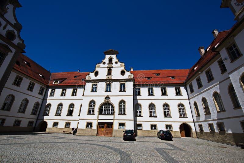 Het museum der Stadt FÃ ¼ ssen stock afbeelding