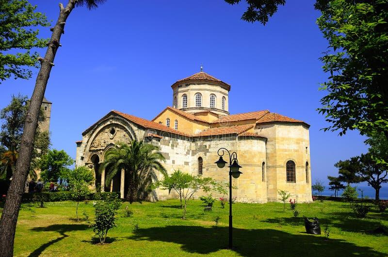 Het Museum Trabzon van Ayasofya stock afbeeldingen