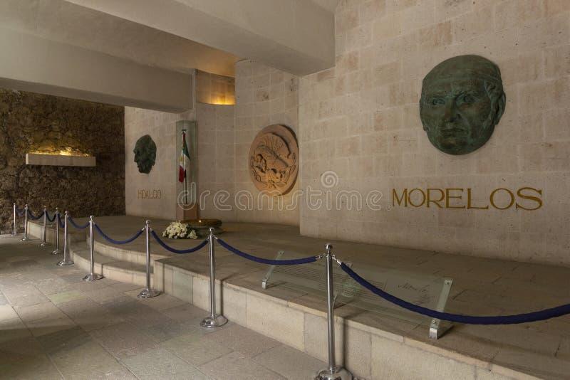 In het Museum van Alhondiga de Granaditas van Miguel Hidalgo en Jose Maria Morelos royalty-vrije stock fotografie
