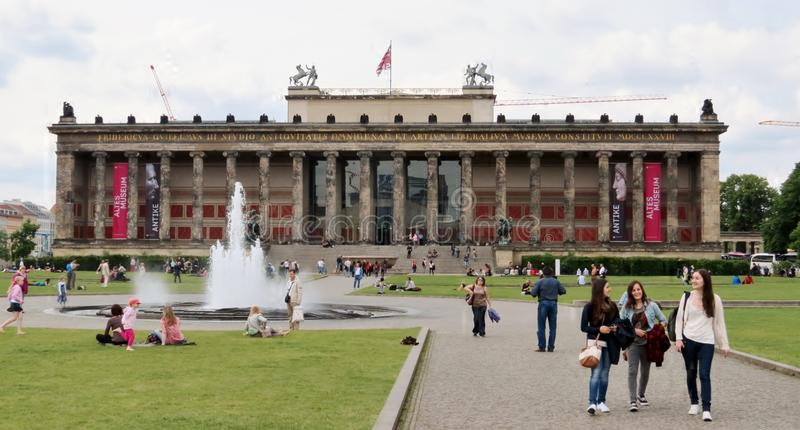 Het Museum van Altes stock foto's
