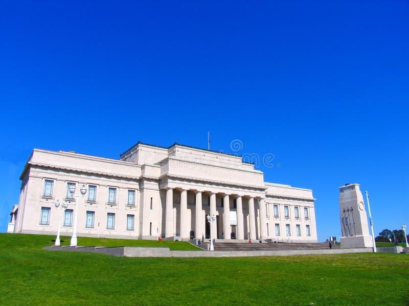 Het Museum van Auckland stock afbeeldingen