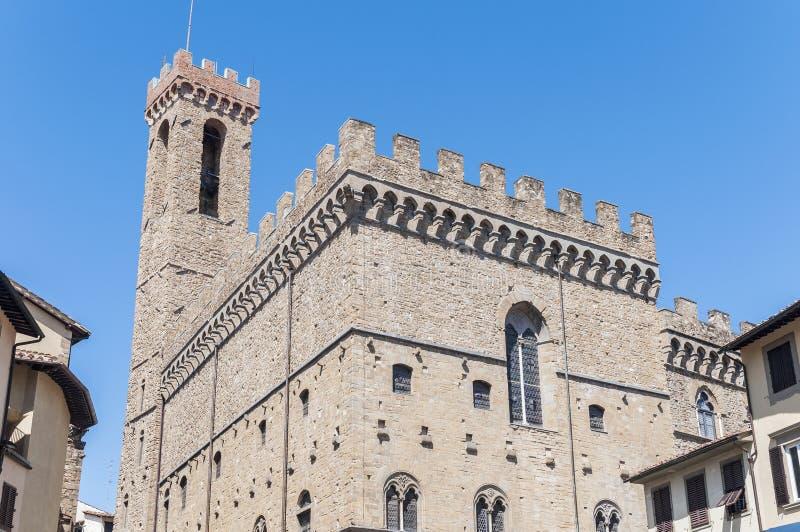 Het museum van Bargello in Florence, Italië stock fotografie