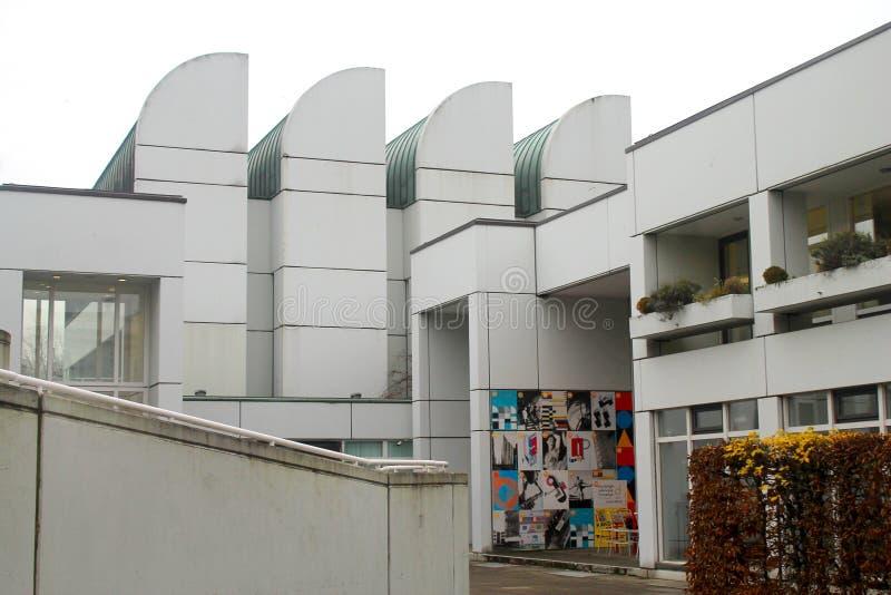 Het Museum van het Bauhausarchief, Berlin Germany royalty-vrije stock foto